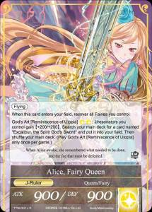 Alice, Fairy Queen